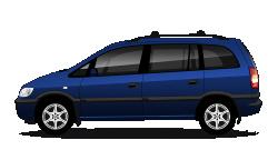 2001 Holden Zafira-A image