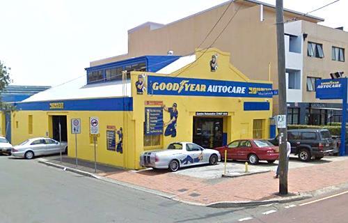 Goodyear Autocare Mascot image