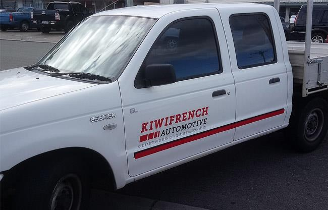 Kiwi French Automotive Mobile image