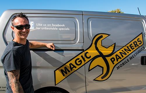 Magic Spanners Mobile Mechanics image