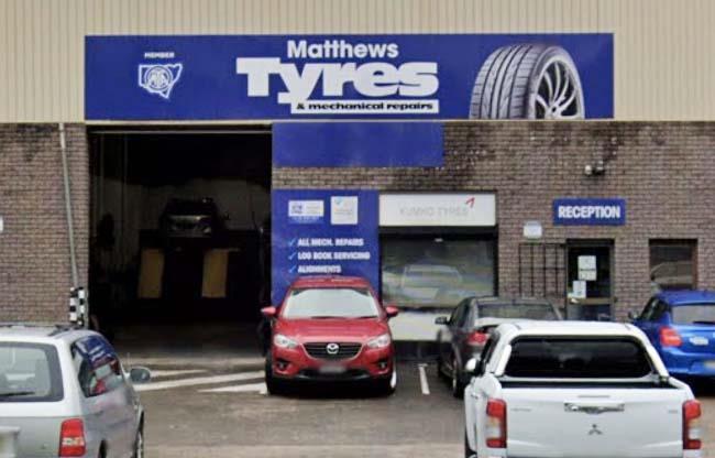Matthews Tyres & Mechanical Repairs image