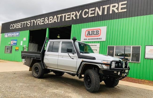 Corbetts Tyre & Battery Centre image