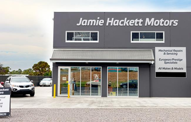 Jamie Hackett Motors image