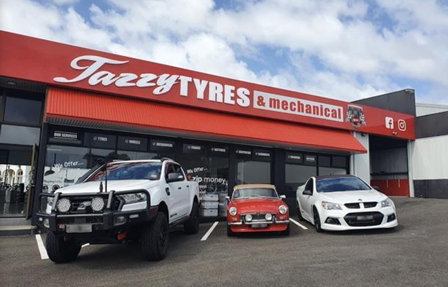 Tazzy Tyres Devonport image