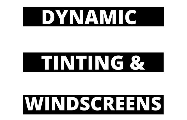 Dynamic Tinting and Windscreens image