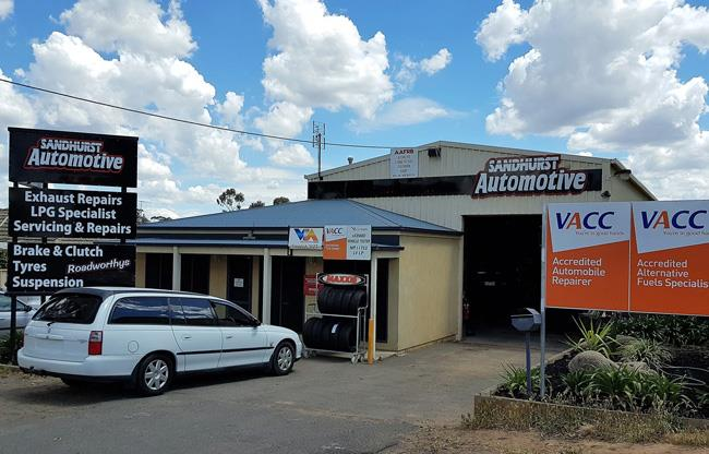 Sandhurst Automotive image