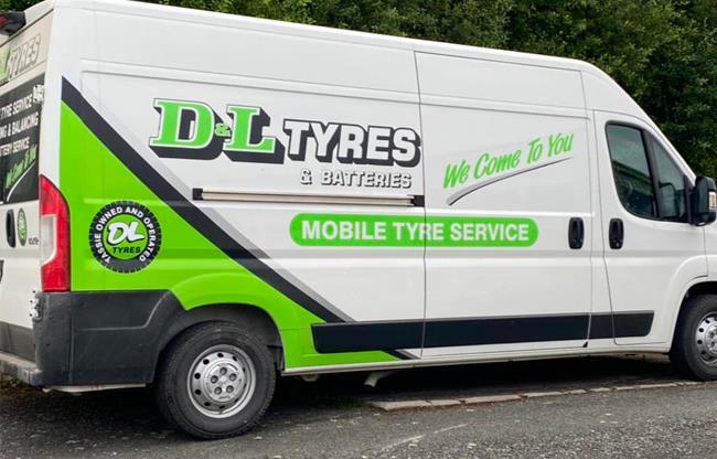 D & L Tyres & Batteries image
