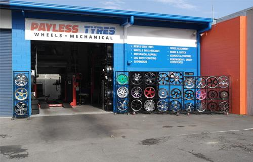 Payless Tyres Wheels Mechanical image