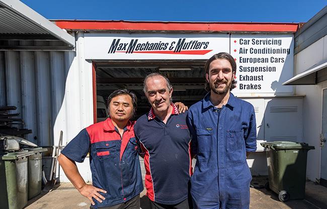 Max Mechanics and Mufflers image