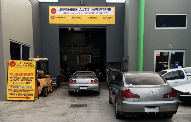 JS Japanese Auto Importers image