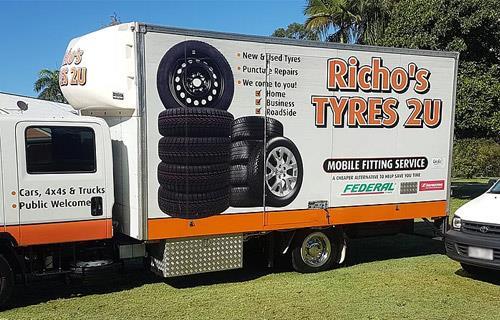 Richo's Tyres 2 U image