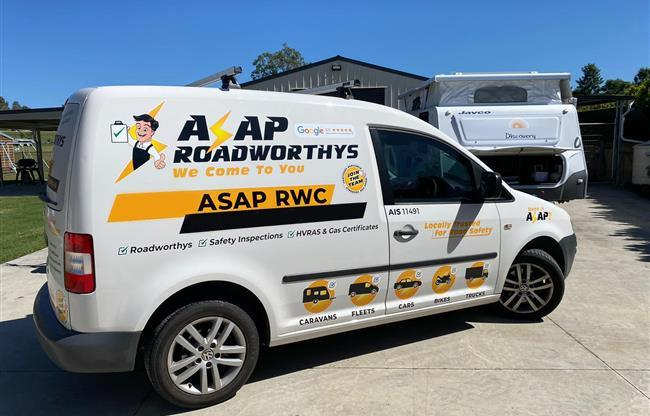ASAP Roadworthys image