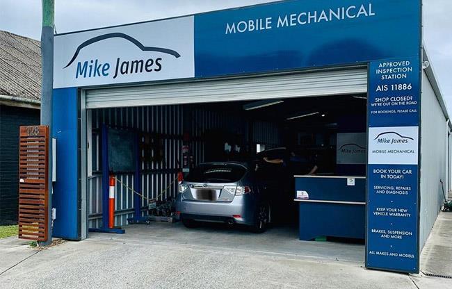 Mike James Mobile Mechanical image