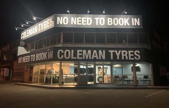 Coleman Tyre Company Wacol image