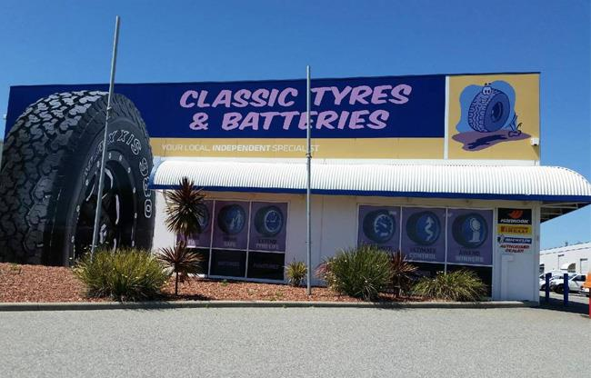 Classic Tyre & Batteries image