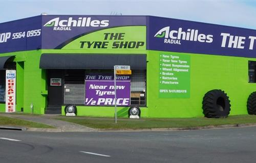 The Tyre Shop image