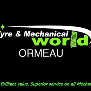 Tyre & Mechanical World Ormeau profile image