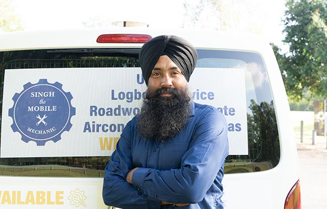 Singh The Mobile Mechanic image