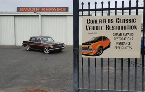 Coalfields Classic Vehicle Restorations image