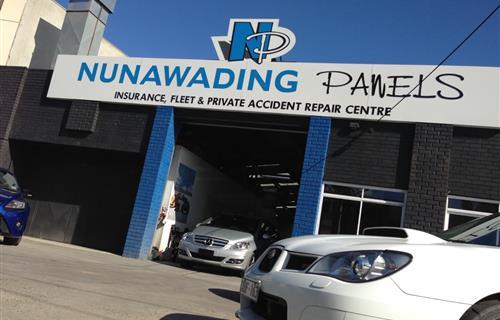 Nunawading Panels image