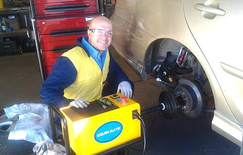 Newcastle Mobile Brake Specialists image