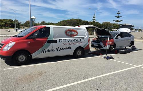 Romano's Automotive Mobile Mechanic & Tyre Services image