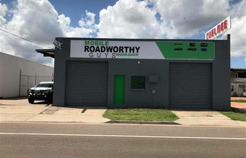 Mobile Roadworthy Guys Workshop - Aitkenvale - Afterpay Now
