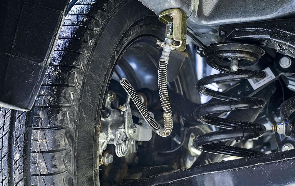 Brake hose replacement