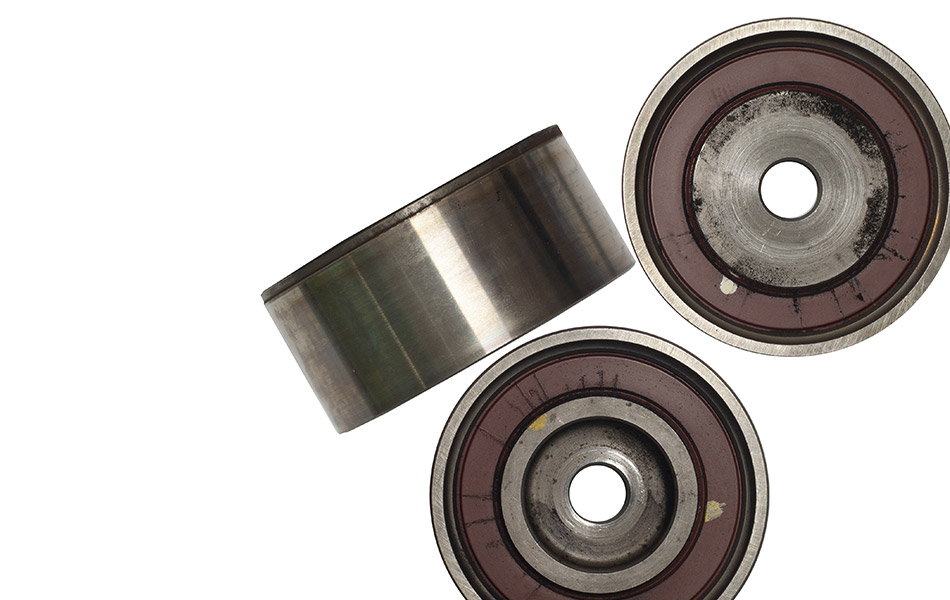 Idler pulley replacement