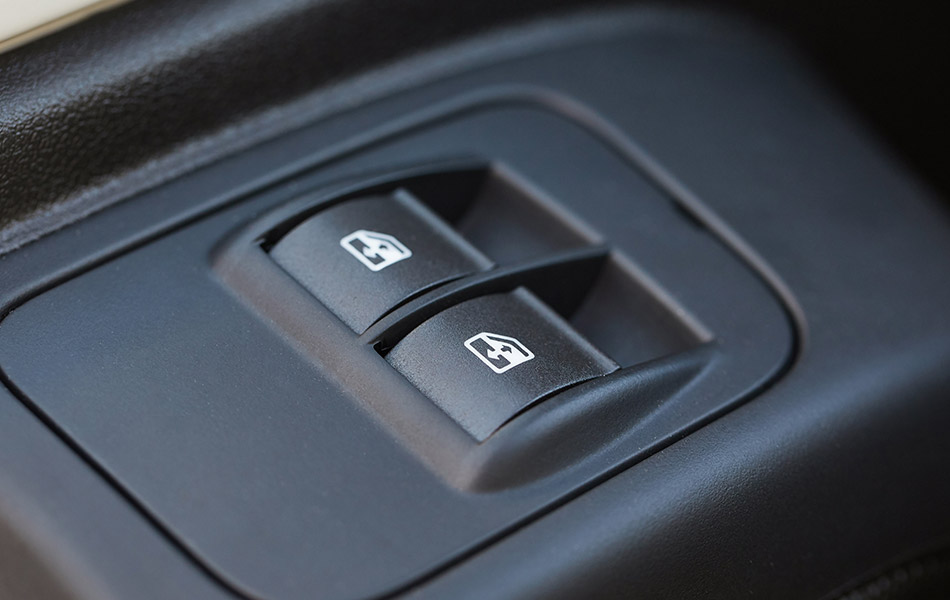 Power window switch replacement