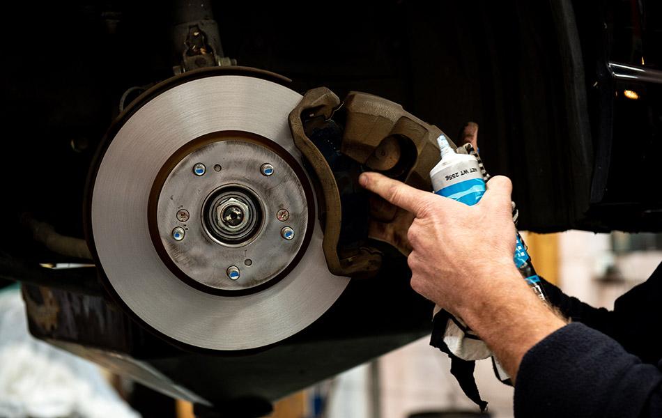 Rear shudder when braking repair