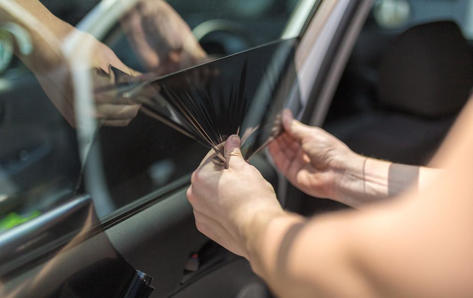 car window tint removal